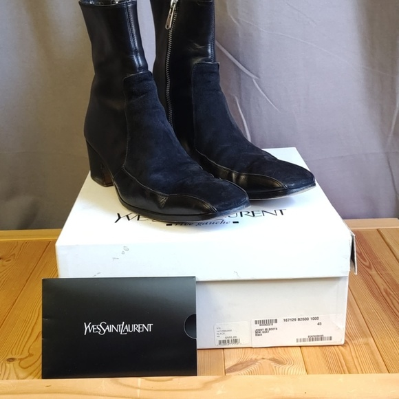 Yves Saint Laurent Other - YSL Men's Boots Leather/Suede EU44/ Square toe